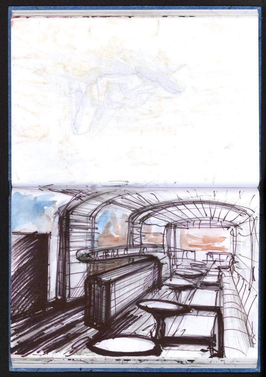 Film restaurant by Jan Kadlec